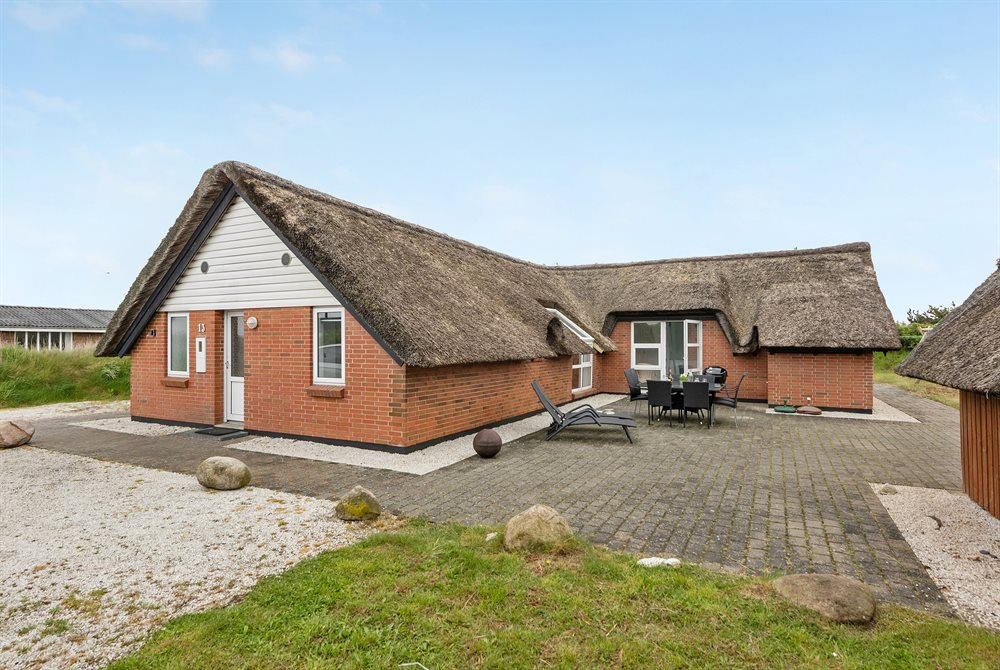 Holiday home in Houvig for 10 persons