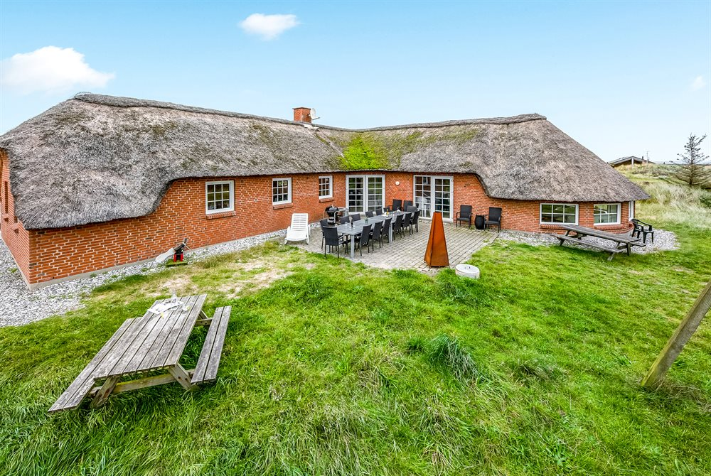 Holiday home in Sondervig for 14 persons
