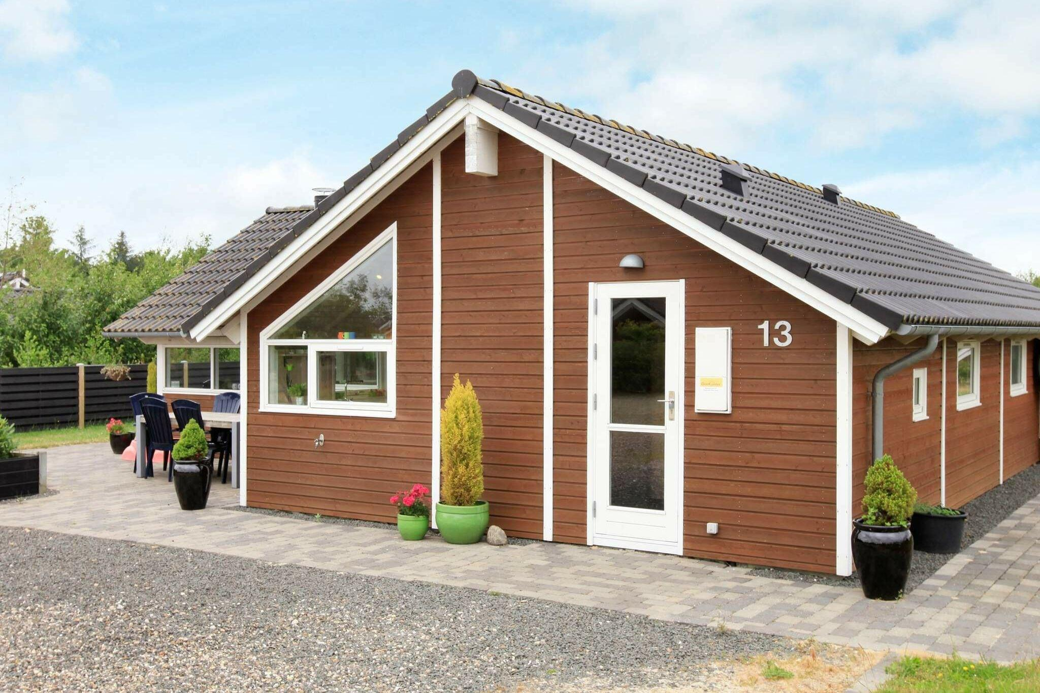 Holiday home in Hemmet for 7 persons