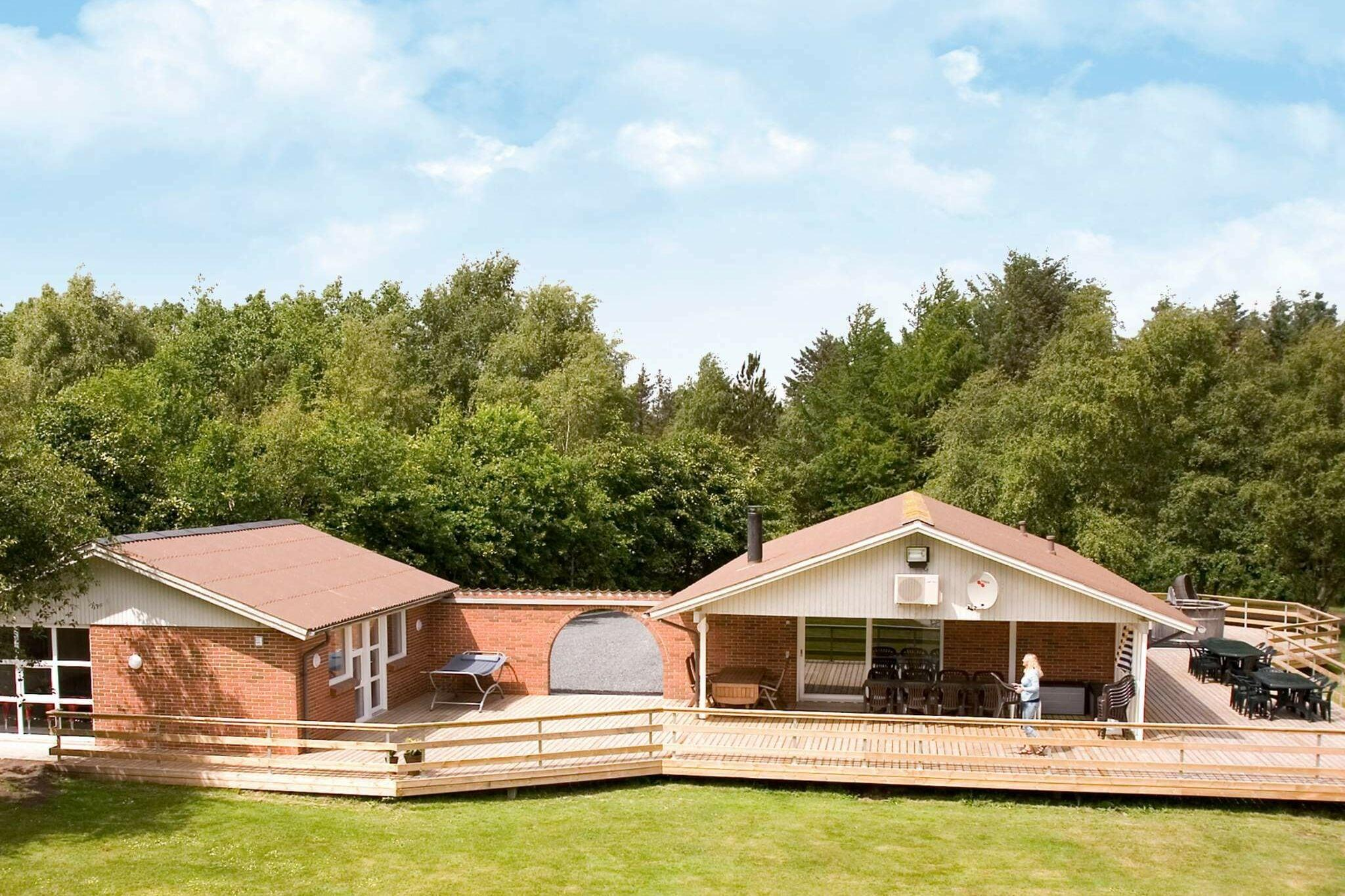Holiday home in Roslev for 17 persons