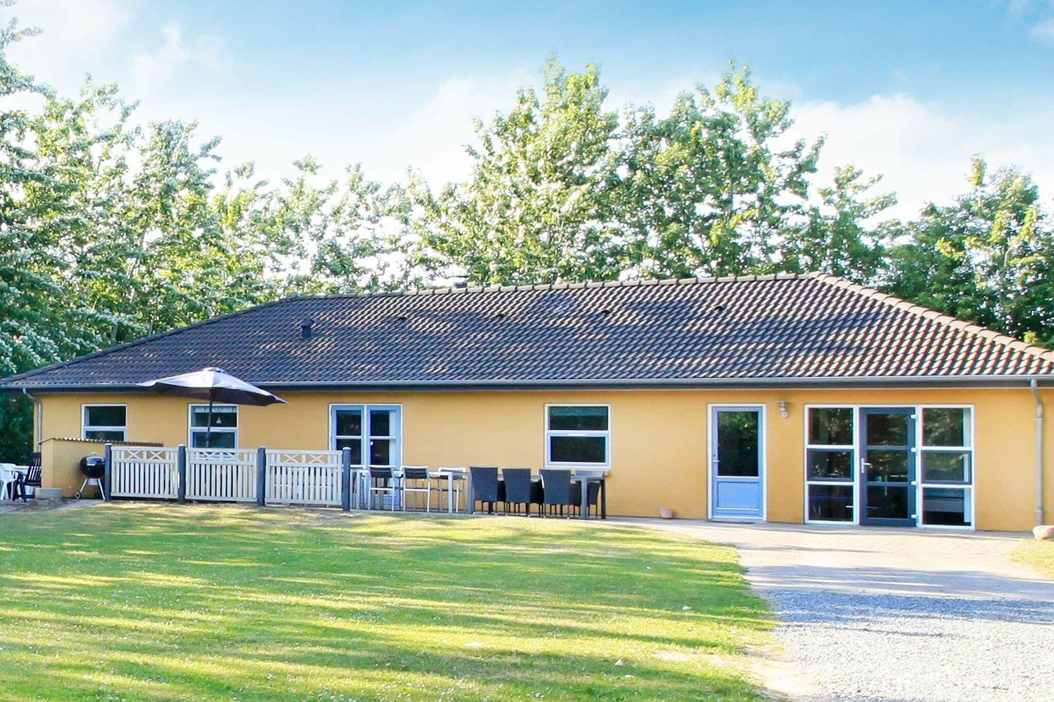 Holiday home in Hojslev for 12 persons