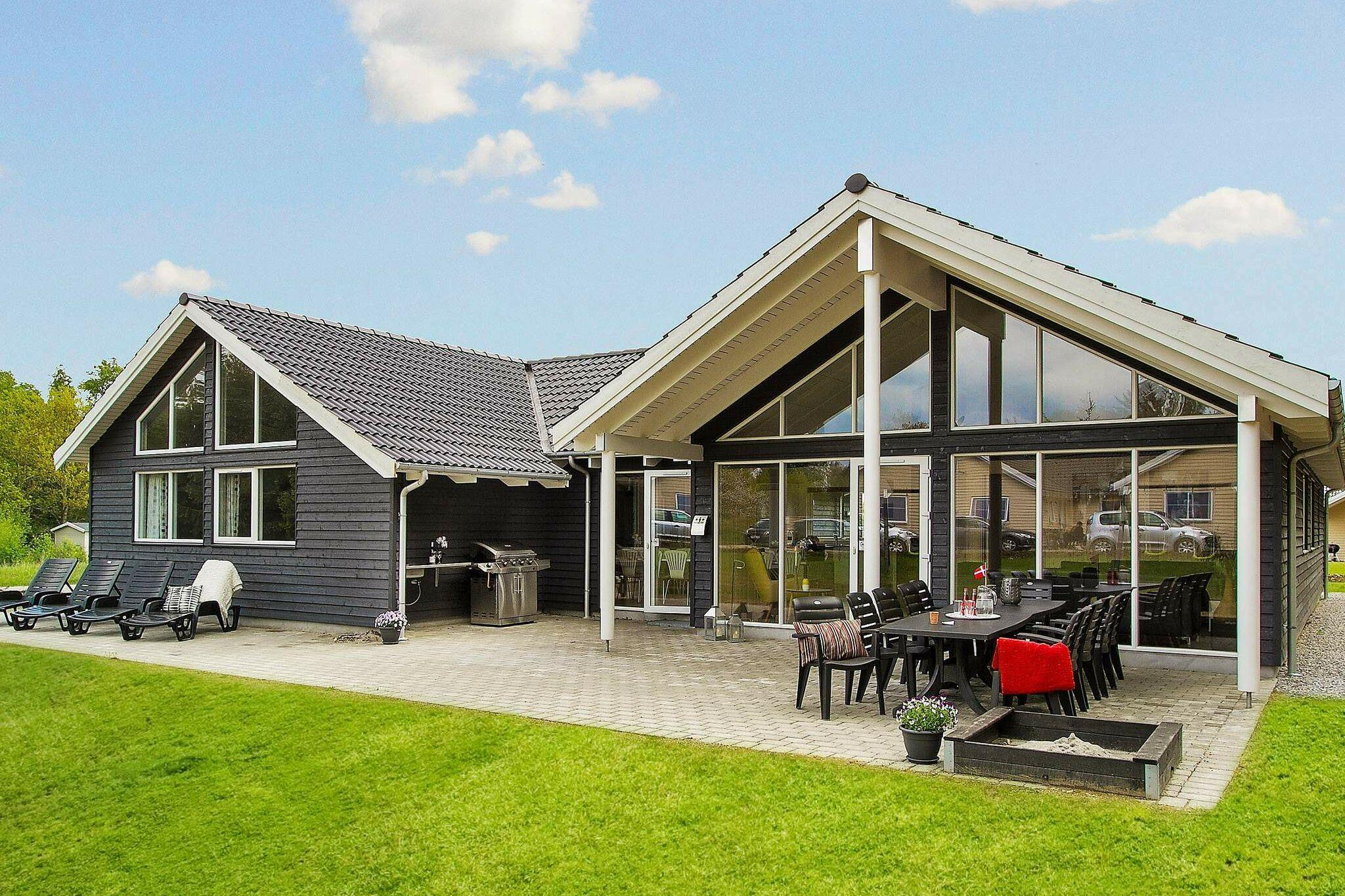 Holiday home in Glesborg for 16 persons