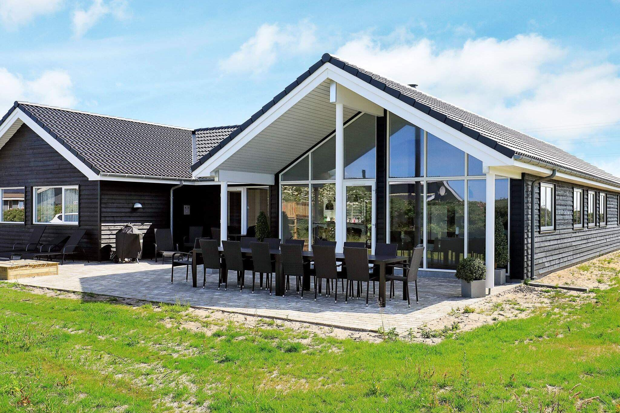 Holiday home in Ringkobing for 18 persons