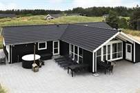 Holiday home in Loekken for 10 persons