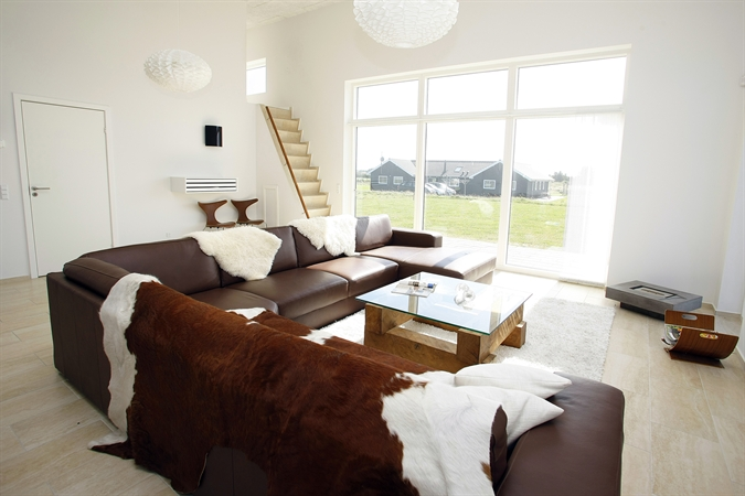 Large and open living room